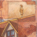 detail: girlonroof - girl on roof